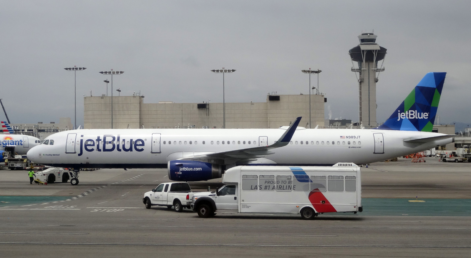 JetBlue Plane Los Angeles