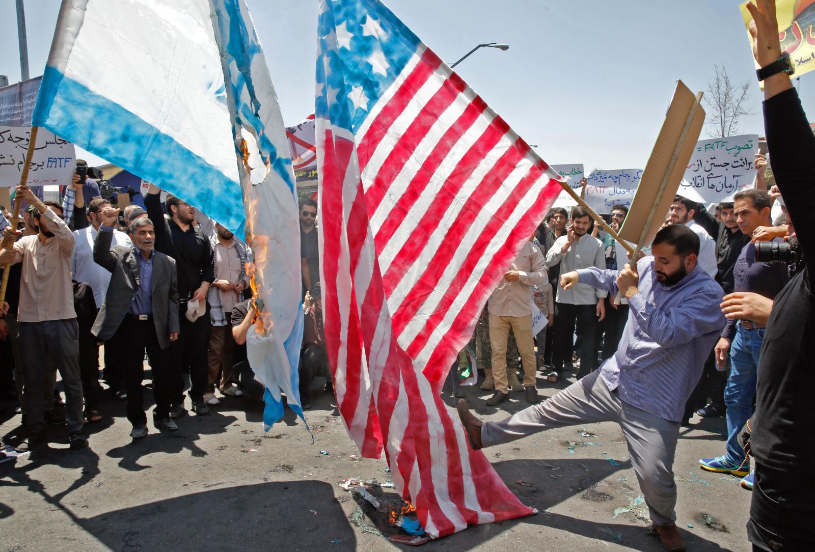 Iran demonstrations against Israel