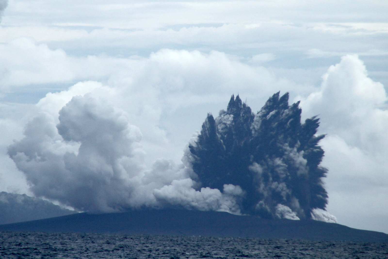 Anak Krakatoa Eruption
