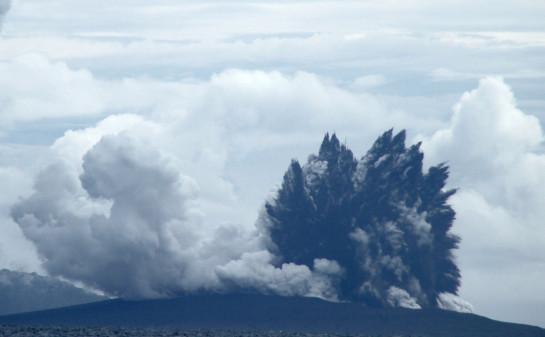 Anak Krakatoa Eruption