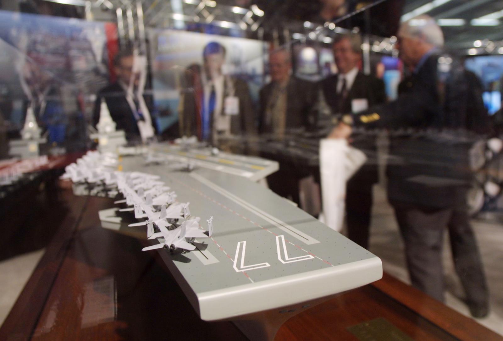 CVN-77 Future Aircraft Carrier