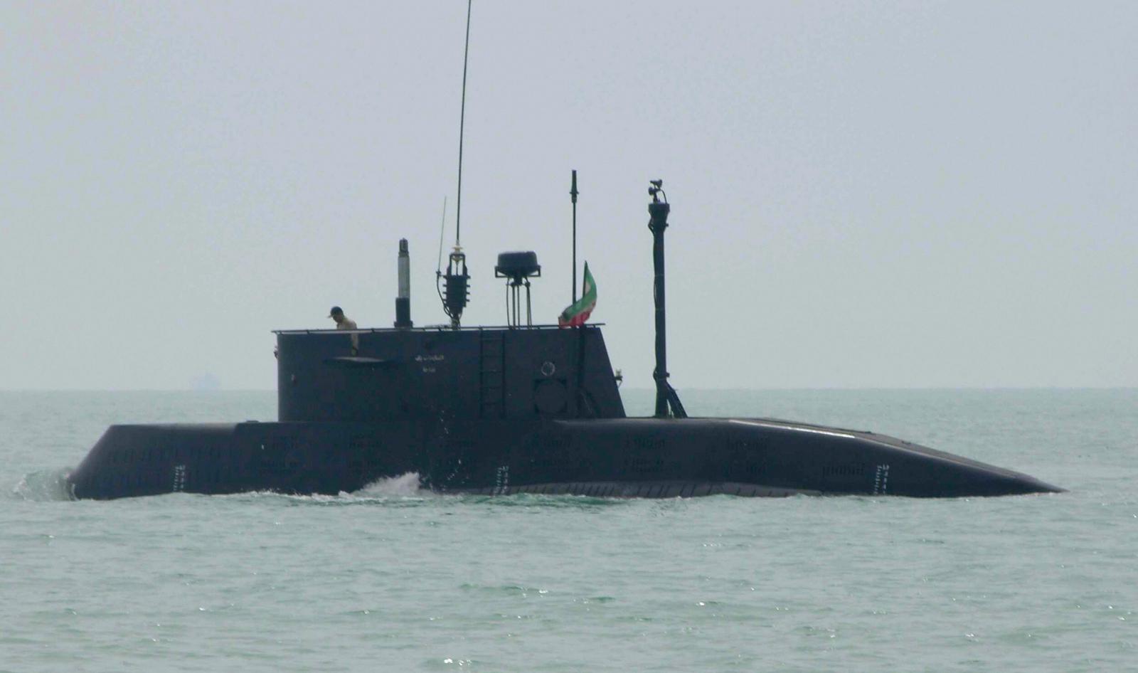 Iran Launches Submarine