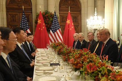 Trump, Xi hold talks over trade war