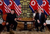 Trump and Kim at the Hanoi Summit