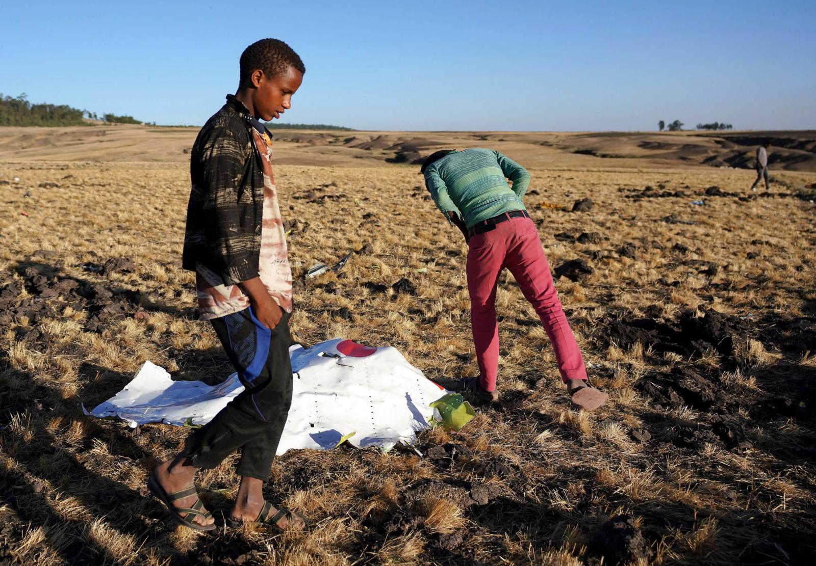 Ethiopian Airlines Boeing 737 Max crash