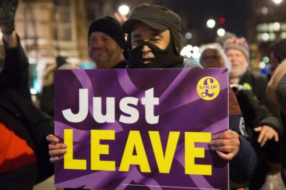 Brexit Protests London