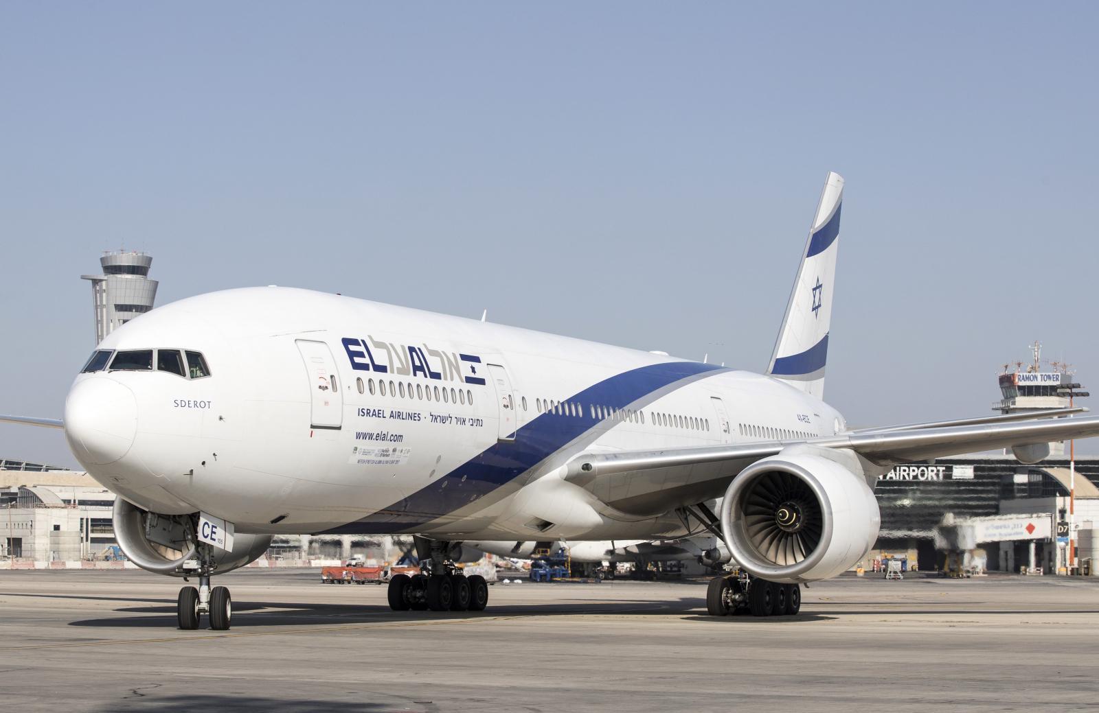 El Al Boeing 777 - 200 Israel