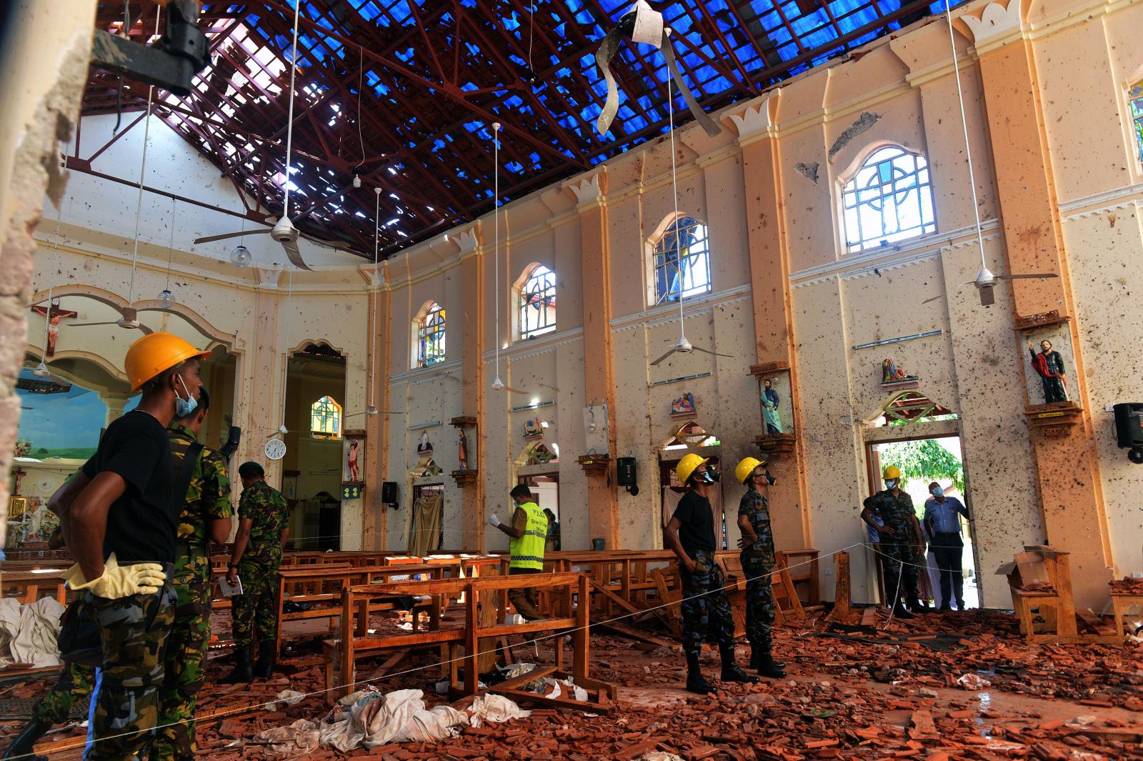 Sri Lanka Easter Sunday Church bombings