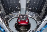 Space X Roadster