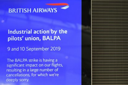 British Airways' apology
