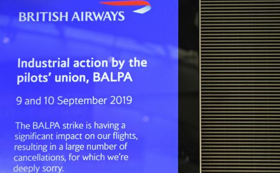 British Airways' apology