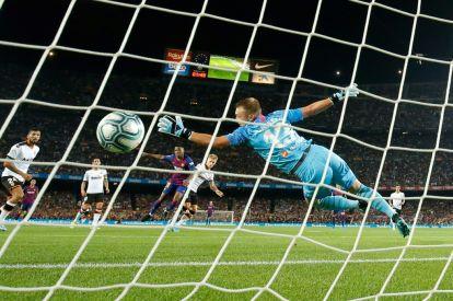 Ansu Fati scores for FC Barcelona