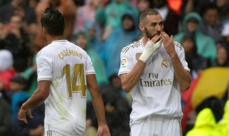 Real Madrid won 3-2 against Levante