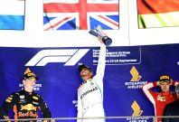 Lewis Hamilton won Singapore GP last year