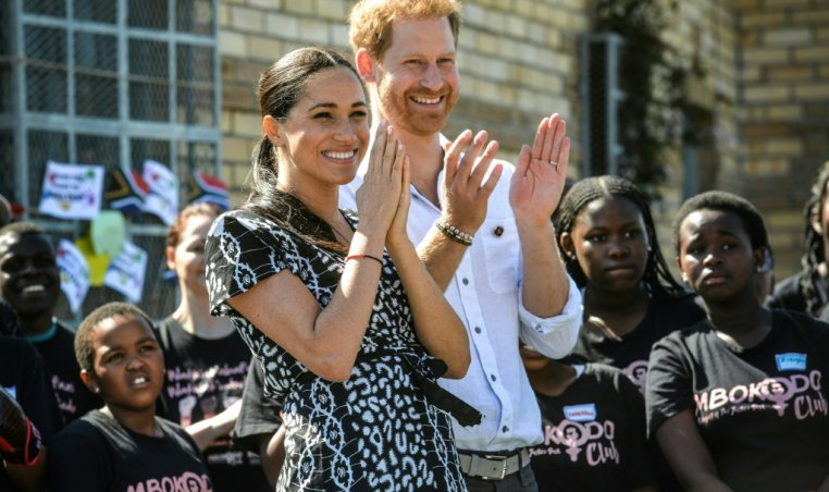 Meghan Markle in South Africa