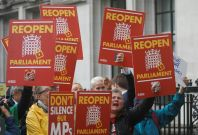 British parliament suspension unlawful
