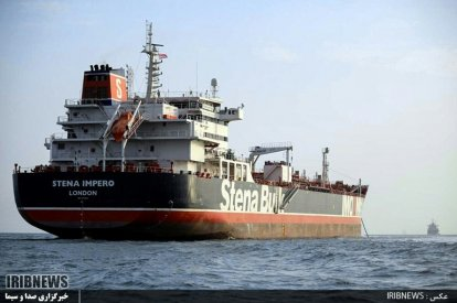 British tanker detained by Iran