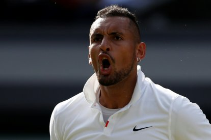 Australia's Nick Kyrgios was fined
