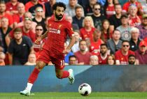 Liverpool winger Mohamed Salah