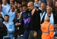 Mauricio Pochettino (left) and Pep Guardiola