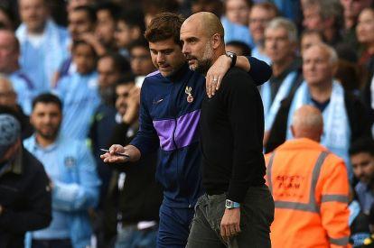 Mauricio Pochettino (left) and Pep Guardiola