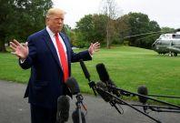 Trump asks to investigate Biden