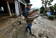 Japan typhoon Hagibis rescue efforts