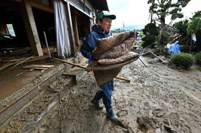 Japan typhoon Hagibis rescue efforts