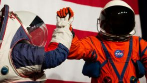 Prototypes of the Orion Crew Survival Suit