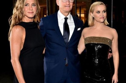 Jennifer Aniston,Tim Cook, Reese Witherspoon