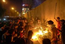 Iraqi demonstrators