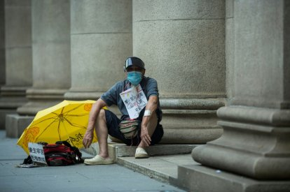 China claims upper hand over Hong Kong