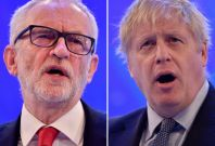 Jeremy Corbin, Boris Johnson