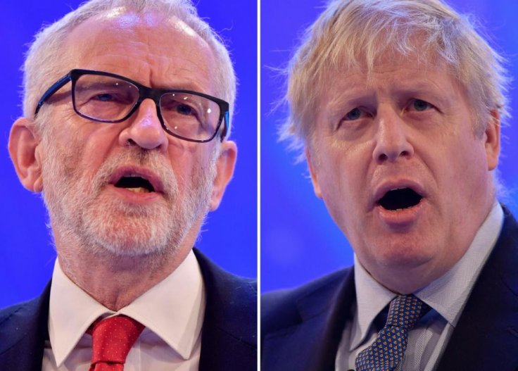 British PM and Labour leader spar over Brexit in first election debate