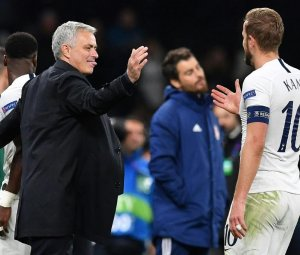 Jose Mourinho in Tottenham