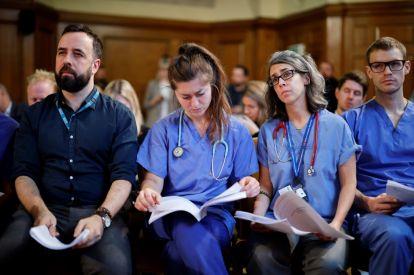 NHS high on UK election agenda