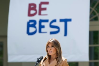 Free Melania new biography by Kate Bennet