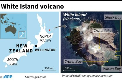 New Zealand observes silence for volcano victims
