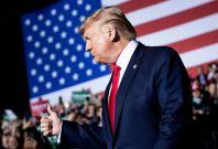 Trump addresses supporters in Michigan