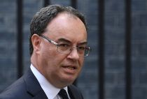 Andrew Bailey is BoE's new governor
