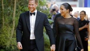 Britain's Prince Harry and Meghan Markle are to step back as 'senior' royals