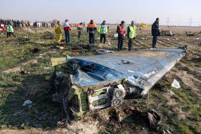 Ukranian plane crashes in Iran