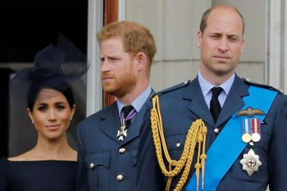 Meghan Markle, Prince Harry and Prince William