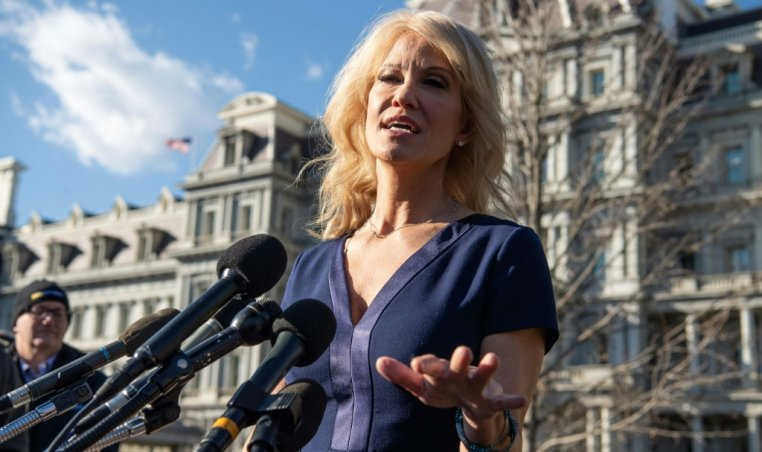 Kellyanne Conway counselor to US President Trump