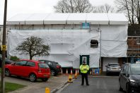 Russian ex-spy Sergei Skripal's house in Salisbury