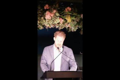 Harry addresses stepping back as senior royals