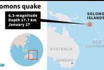 Earthquake hits Solomon Islands