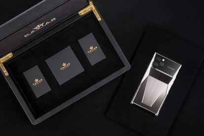 Tesla Cybertruck inspired the Caviar Cyberphone