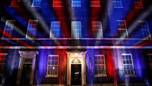 10 Downing Street on Brexit Day