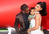 Travis Scott, Kylie Jenner, daughter Stormi